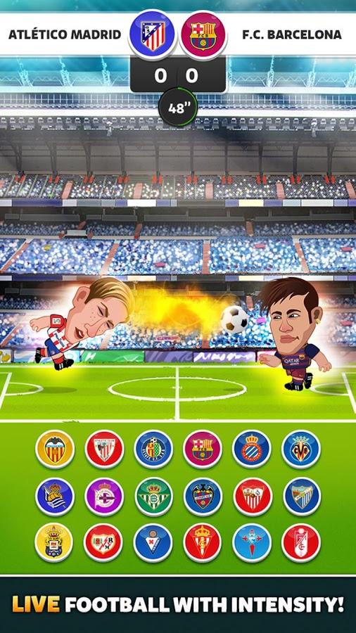 Head Soccer LaLiga 2016 v 2.2.0 .apk File