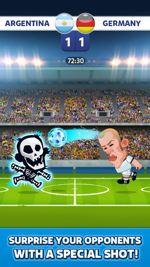 Head Soccer – World Football v2.2 .apk File