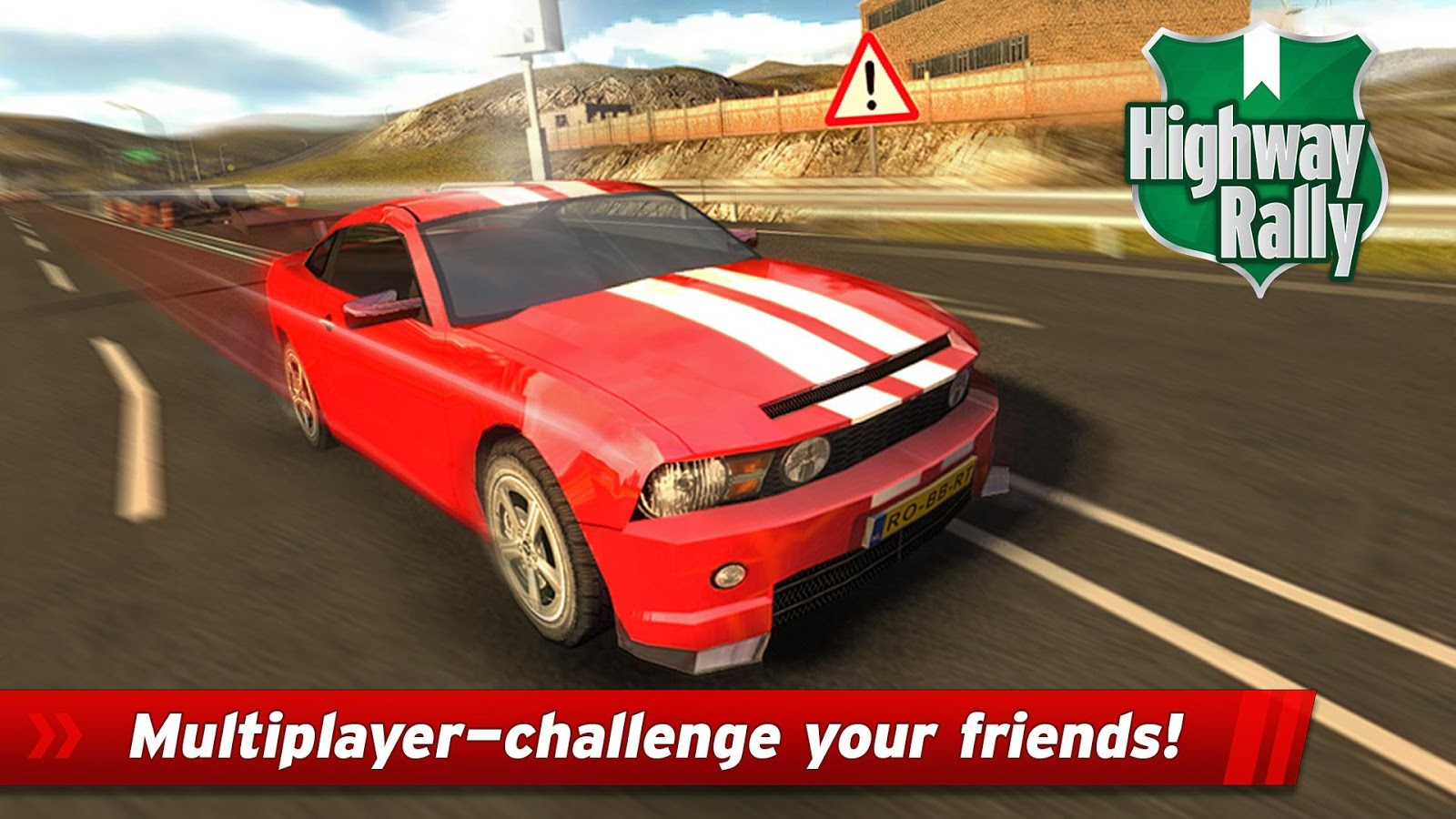 Highway Rally: Fast Car Racing v1.080 .apk File