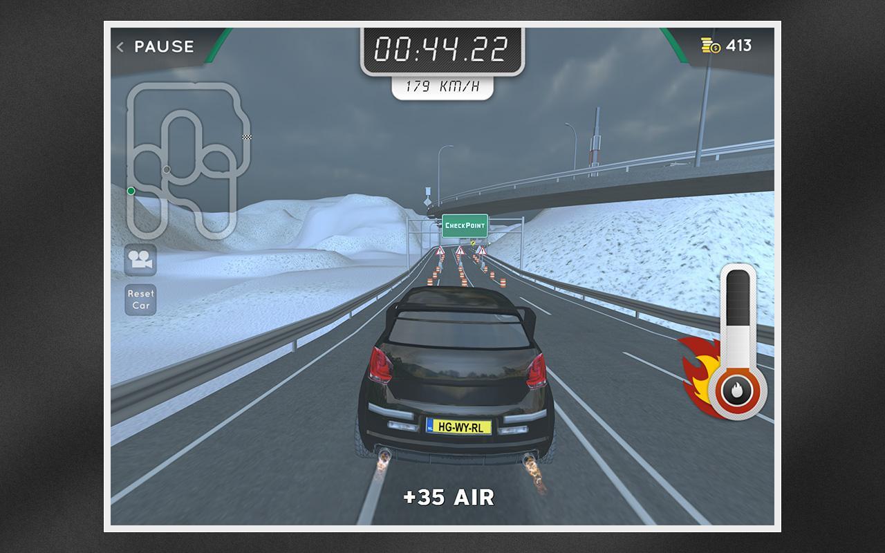 Highway Rally: Fast Car Racing v1.080 .apk File
