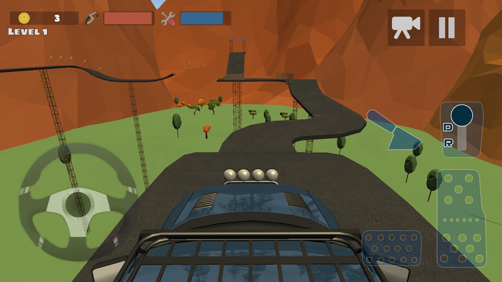 Hill Climb Race 3D 4×4 v2.3 .apk File