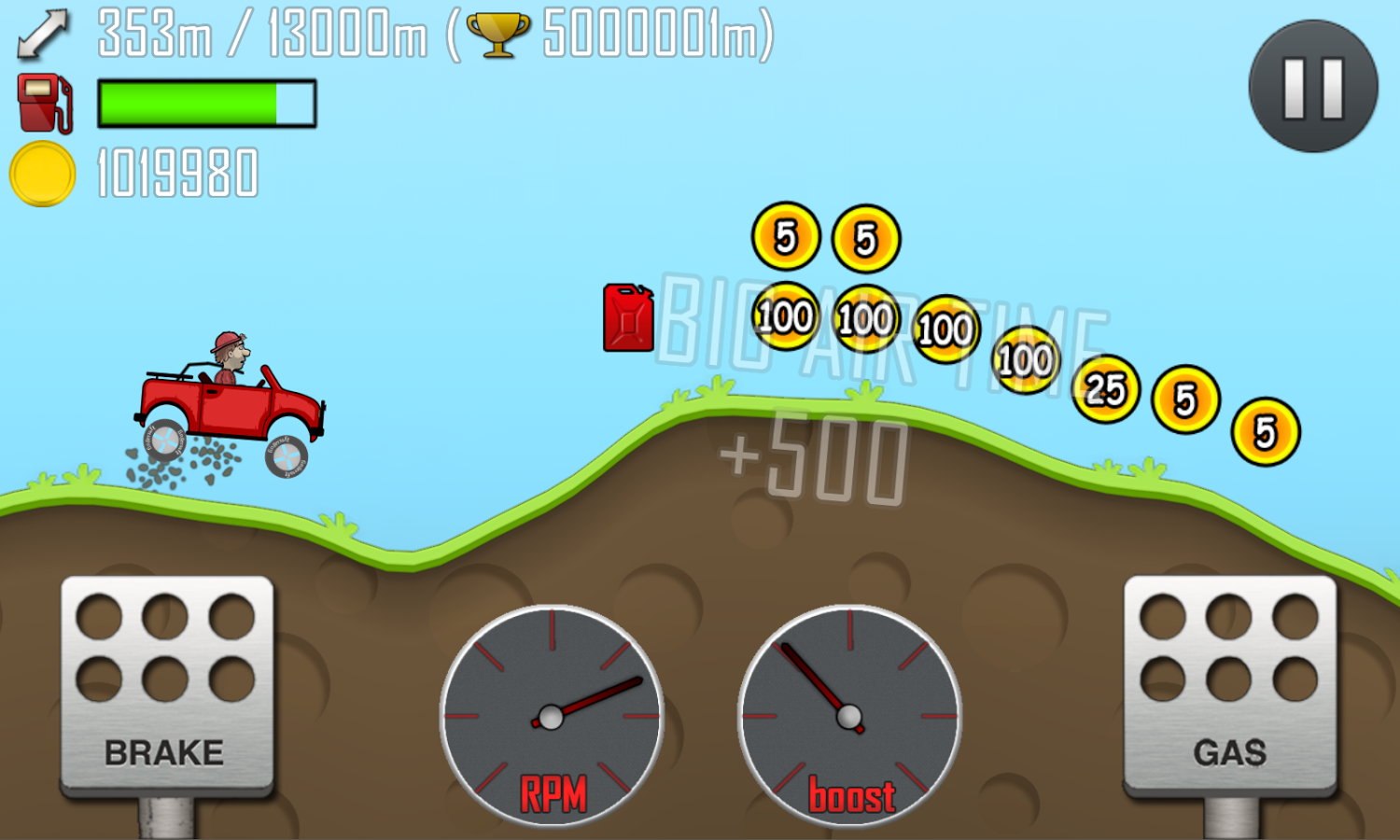 Download hill climb racing 1. 25. 1 apk for android | softstribe.