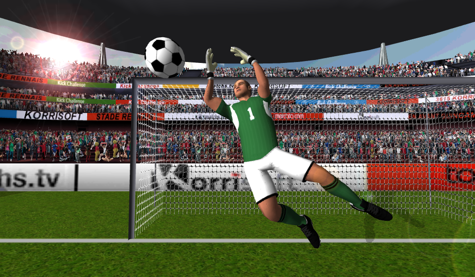 Kick Challenge Football 2015 v5.3 .apk File