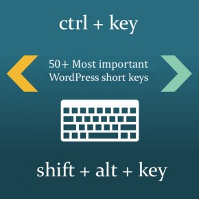 Most important WordPress short keys Thumbnail