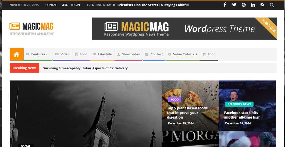 News Magic News Magazine Newspaper