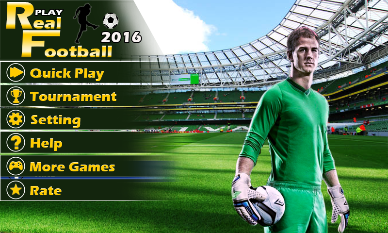 Play Real Football 2015 Game v1.6.0 .apk File