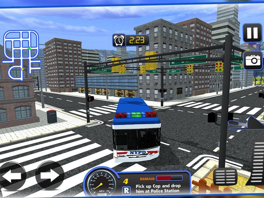 Police Bus Criminal Transport v1.7 .apk File