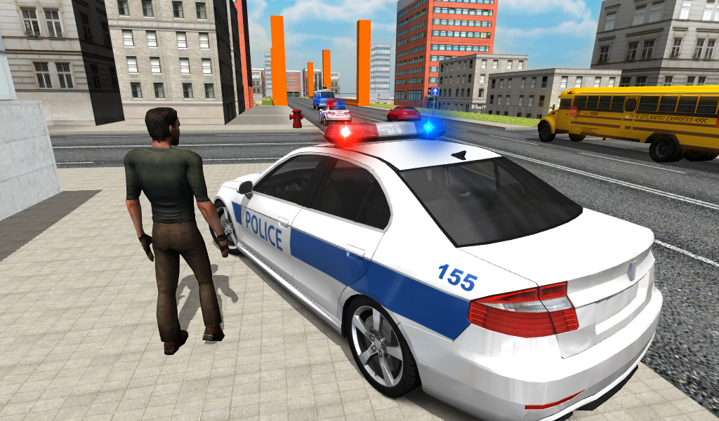 Police Car Parking Games