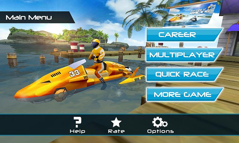 Powerboat Racing 3D v 1.4 .apk File