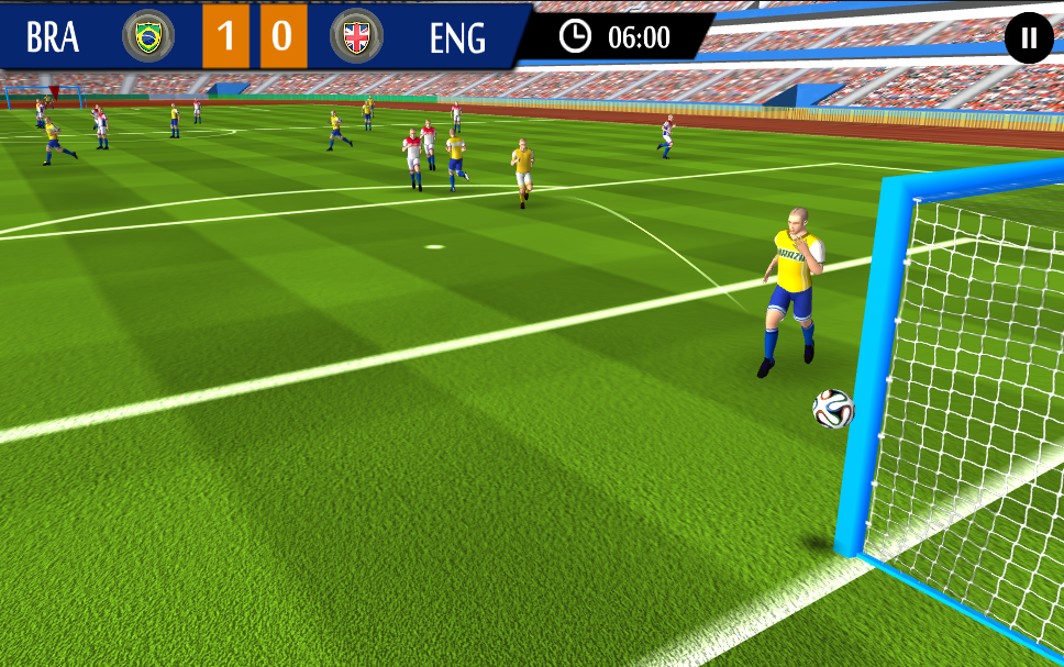 Real Football Game 2015 v1.3 .apk File