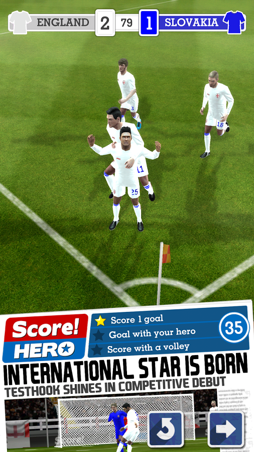 Score! Hero v1.01 .apk File