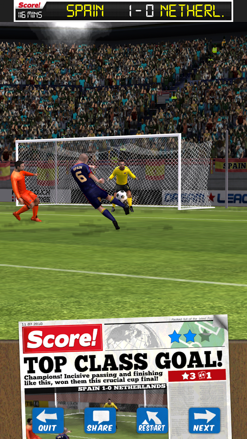 Score! World Goals v2.75 .apk File