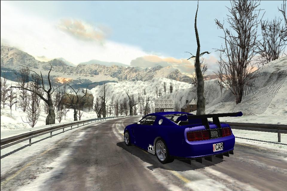 Snow Car Racing v 1.02 .apk File