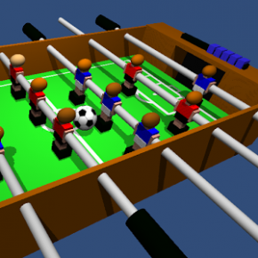 Table Football, Soccer 3D Feature