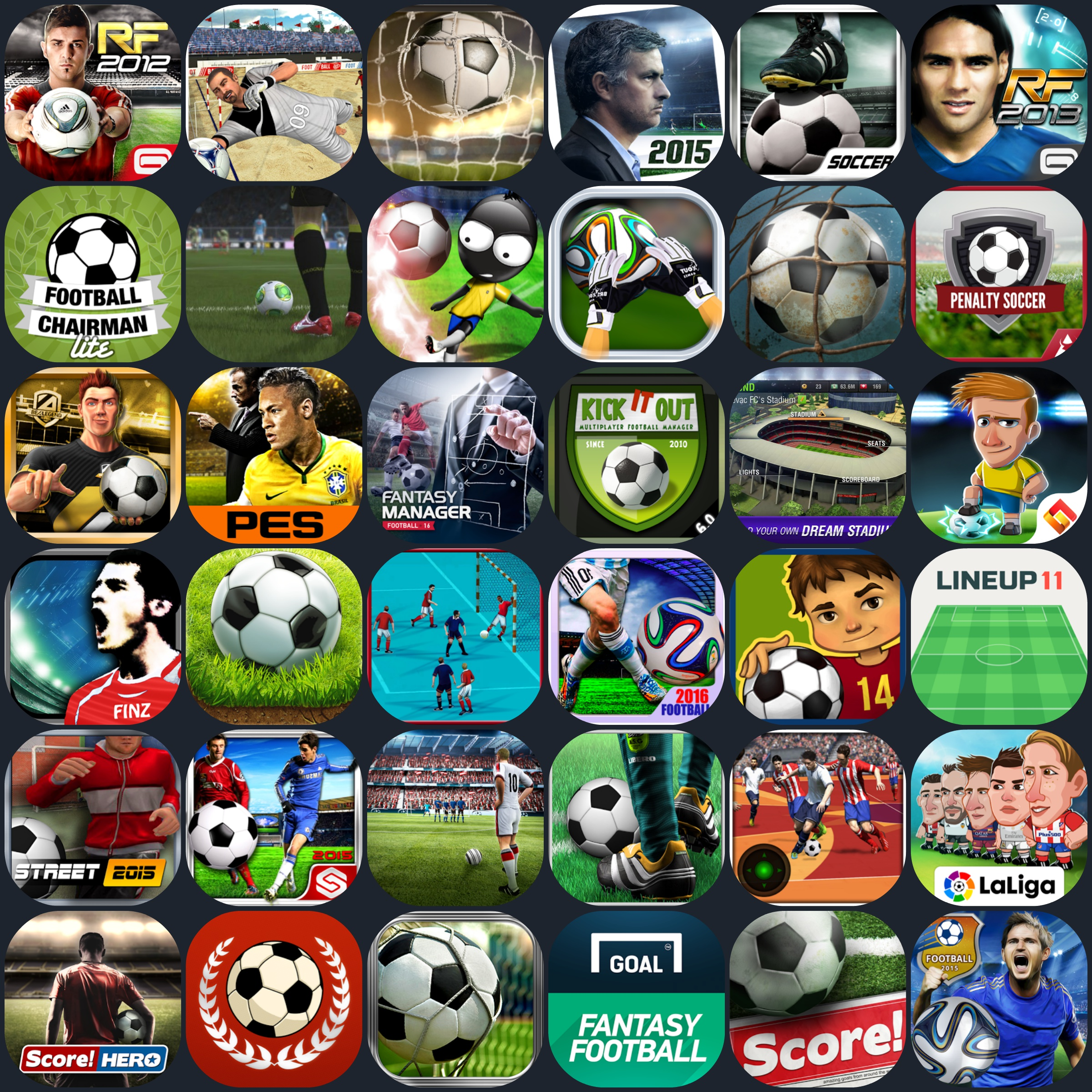 Best android football games