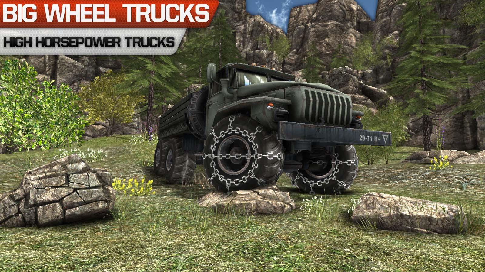 Truck driver 3D: Offroad v1.11 .apk File