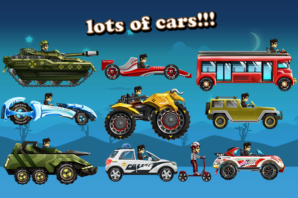 Up Hill Racing: Hill Climb v 1.04 .apk File