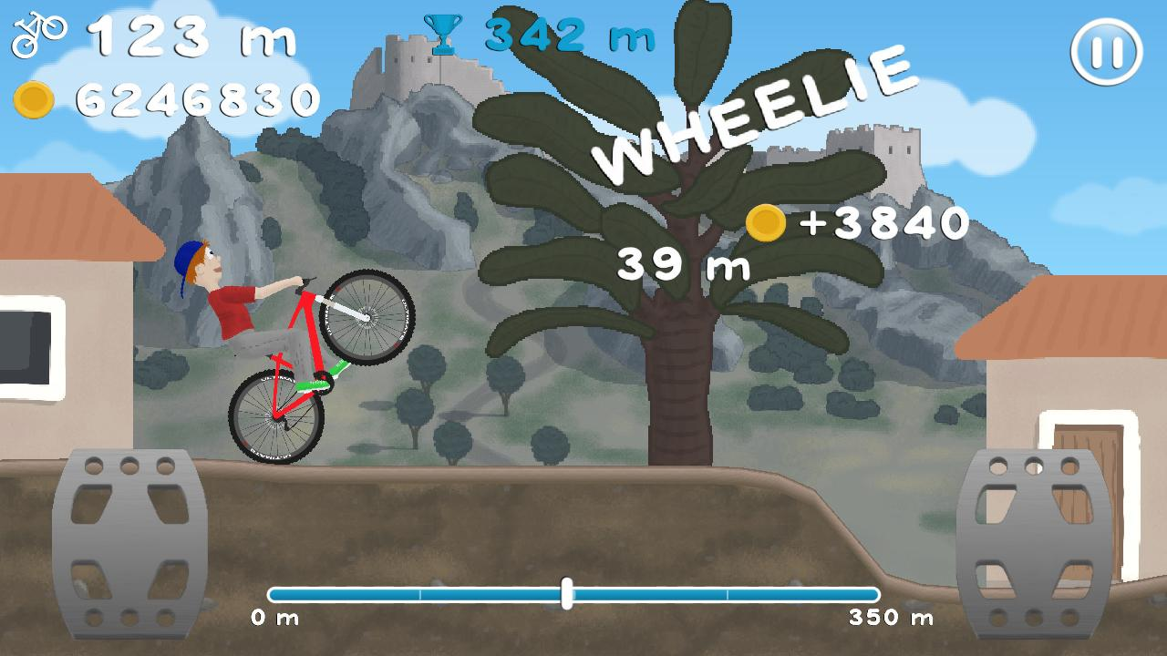 Wheelie Bike v1.29 .apk File