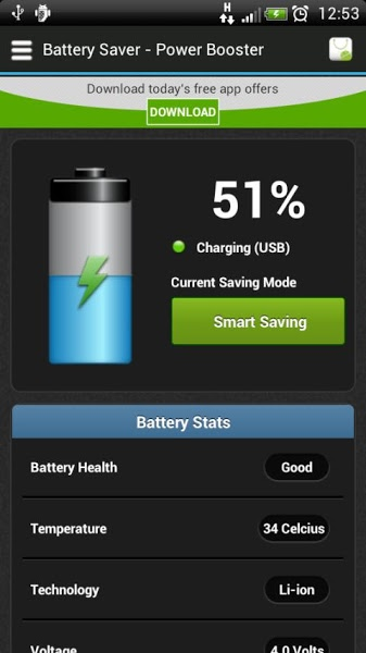 Best Battery Saver v1.2.1 .apk File