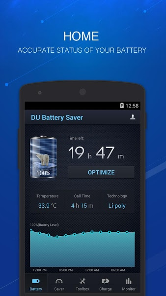 DU Battery Saver&Phone Charger v3.9.9.9.6.2  .apk File