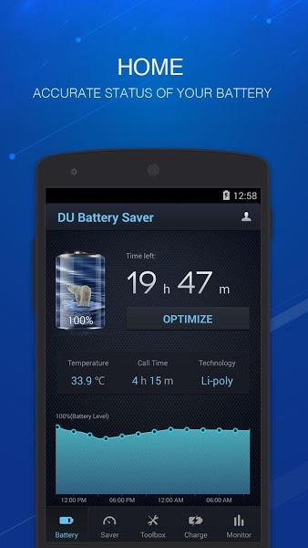 DU Battery Saver&Phone Charger v3.9.9.9.6.2  .apk File