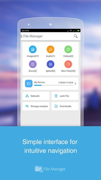 File Manager (File transfer) v2.5.0 .apk File