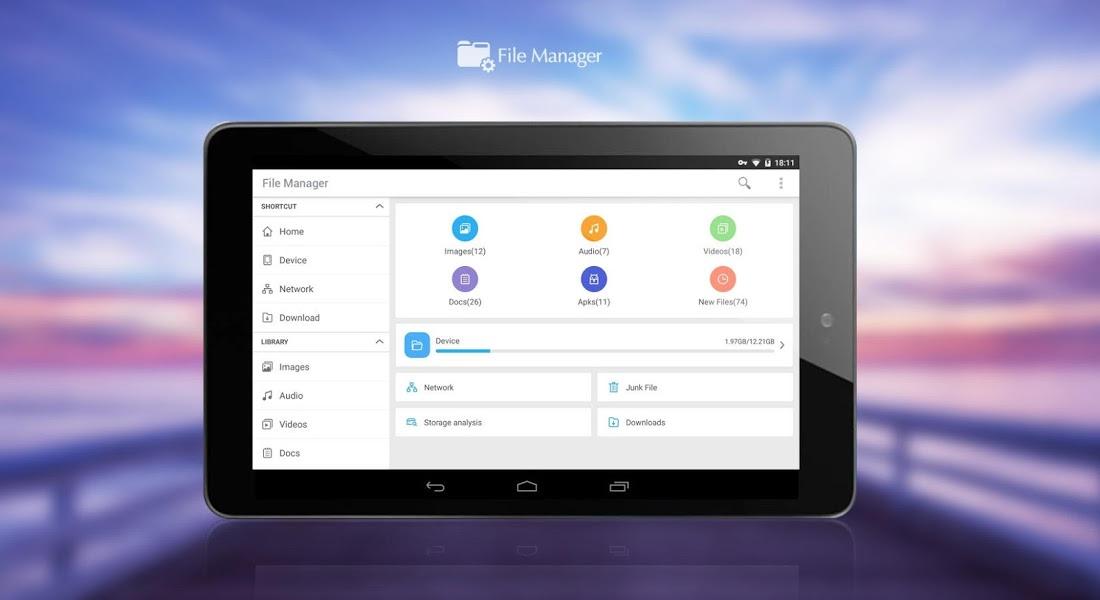 File Manager (File transfer) v2.5.0 .apk File
