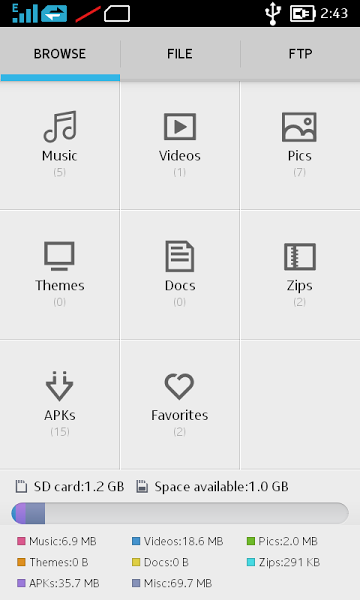 File Manager v1.0  .apk File