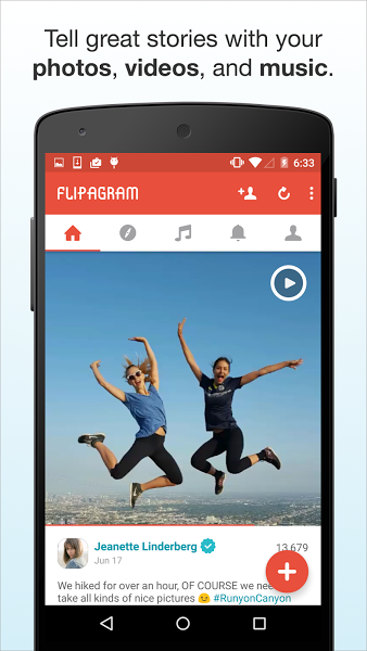 Flipagram – Slideshows + Music v5.4.3 .apk File