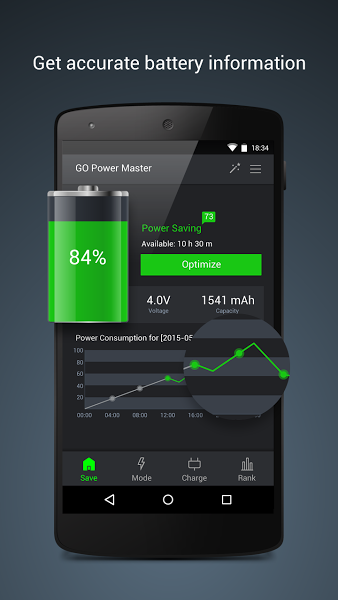 GO Battery Saver &Power Widget v5.3.5.1 .apk File