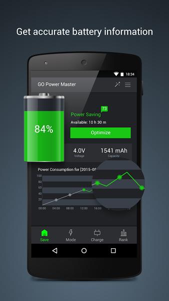 GO Battery Saver &Power Widget v5.3.5.1 .apk File
