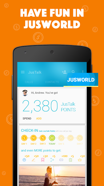 JusTalk Free Video Call & Chat v6.6.25  .apk File