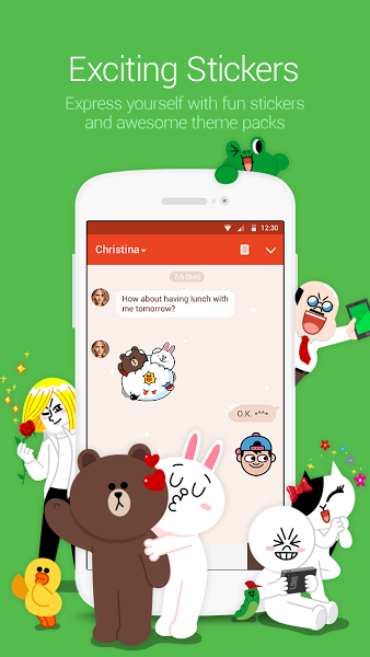 LINE: Free Calls & Messages v5.8.1 .apk File