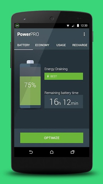 PowerPRO – Battery Saver v1.2.0  .apk File