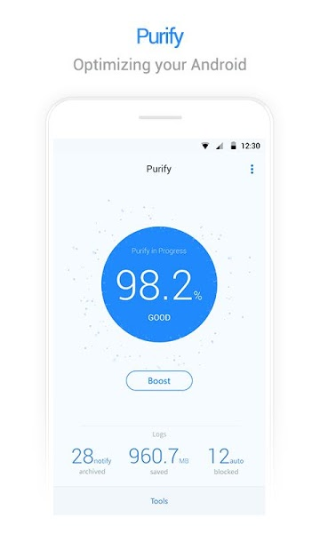 Purify (Battery Saver & Boost) v1.2.3.120  .apk File