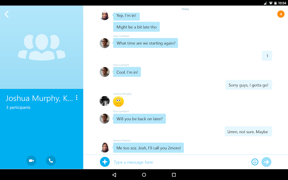Skype – free IM & video calls v 5.11.0.15471 .apk File