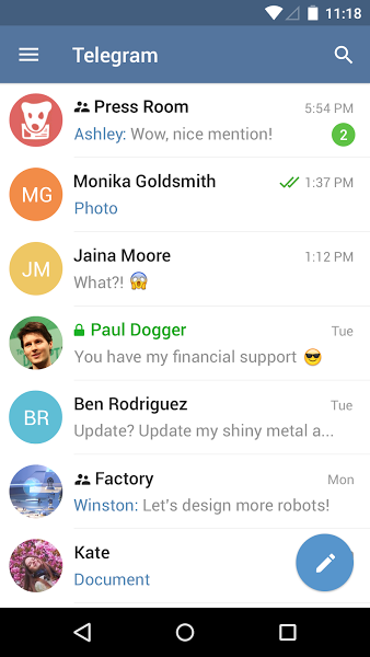 Telegram v3.3.2  .apk File