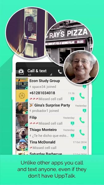 UppTalk WiFi Calling & SMS v2.2.1  .apk File