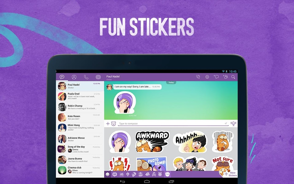 Viber Messenger - Text Call for iOS - Free download