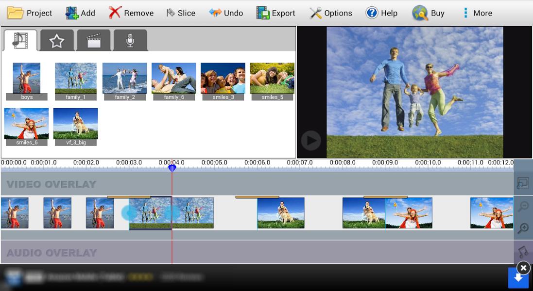 VideoPad Video Editor Free v3.84 .apk File