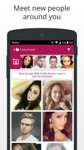 Waplog Chat & Free Dating v3.0.1 .apk File