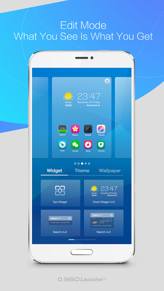 360 Launcher-Fast, Free Themes v7.1.2 .apk File