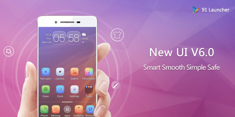 91 Launcher- Smooth, Smart v6.1.5 .apk File