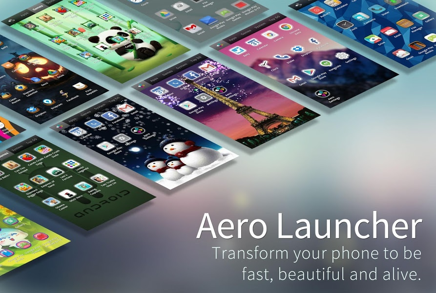 Aero Launcher – Live Wallpaper v2.29 .apk File