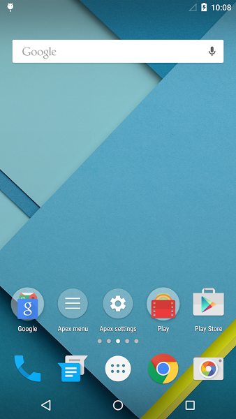 Apex Launcher v3.1.0 .apk File