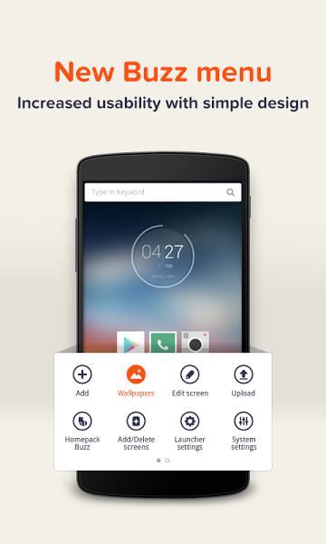 Buzz Launcher-Smart&Free Theme v1.9.0.10 .apk File