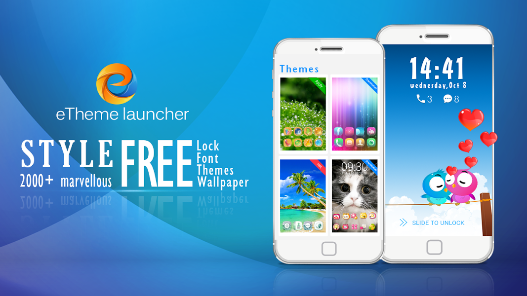 ETheme Launcher – Boost&Lock v2.2.9 .apk File