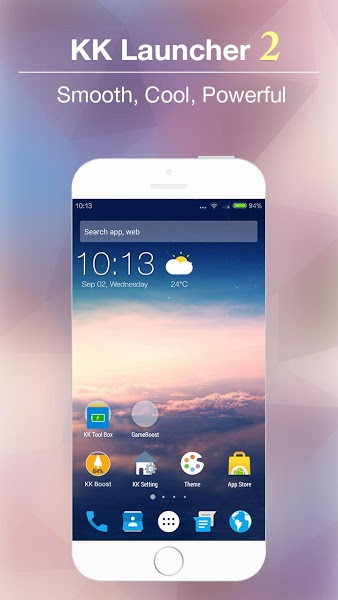 KK Launcher -Lollipop launcher v6.83 .apk File