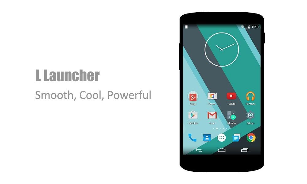 L Launcher – Lollipop Launcher v2.6 .apk File