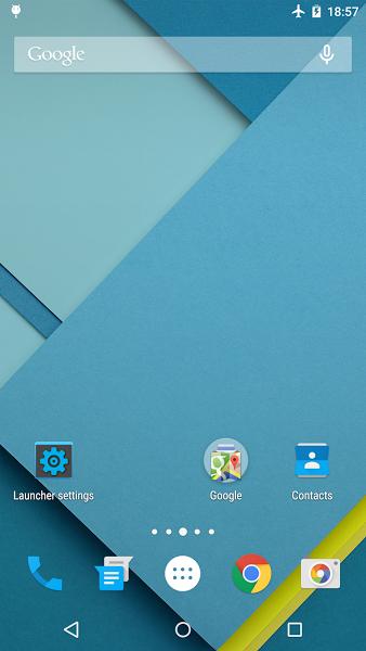 Lollipop Launcher v1.2.2 .apk File